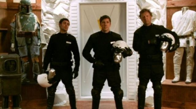 Ray Park as guard in Fanboys