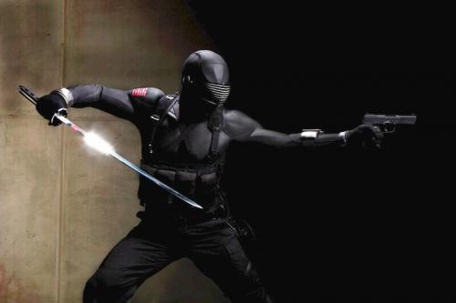 Ray Park in GI Joe Rise of Cobra
