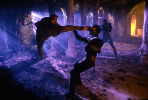 Ray Park in Mortal Kombat Annihilation