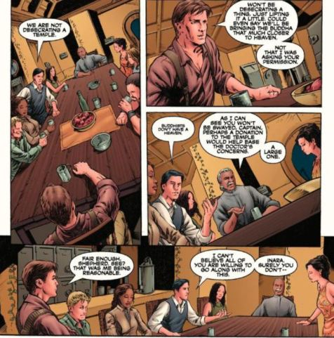 Serenity Better Days excerpt Dark Horse Comics