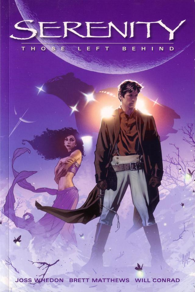 Serenity Those Left Behind Dark Horse cover