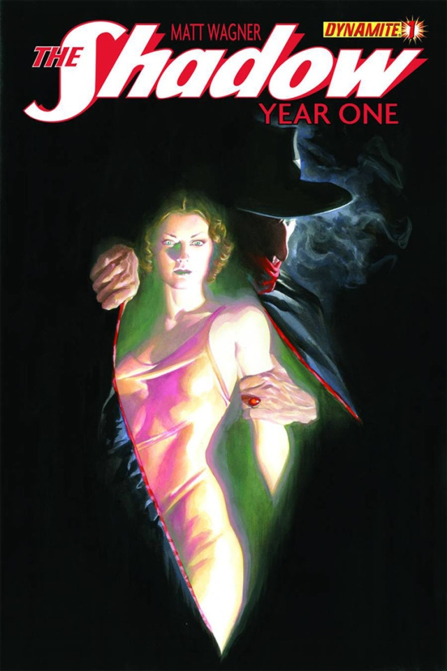 Shadow Year One Alex Ross cover