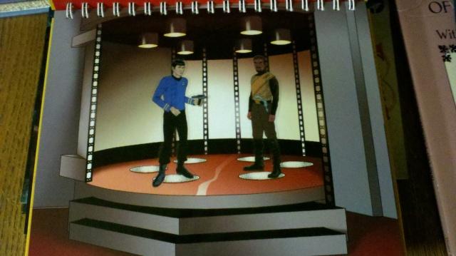 Spock vs Klingon transport