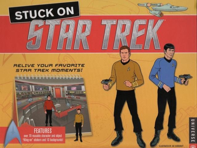 Stuck On Star Trek Cover Joe Corroney