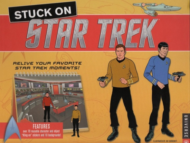 Stuck On Star Trek Cover Joe Corroney