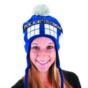 TARDIS laplander hat from HalloweenCostumesdotcom