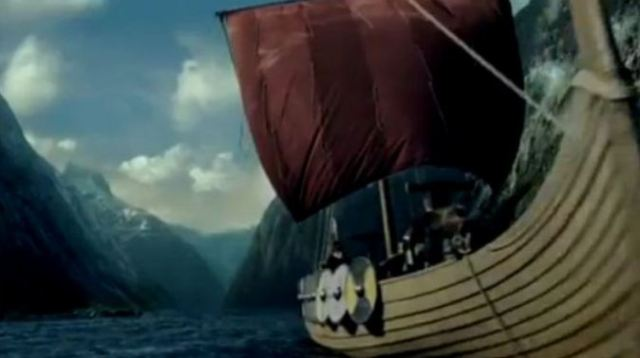 Vikings on History Channel warship