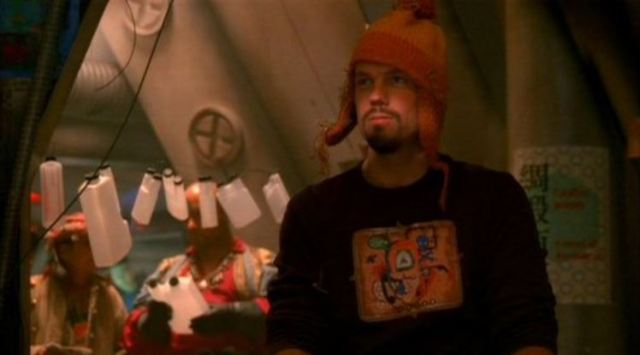 Adam Baldwin as Jayne Cobb with Firefly hat