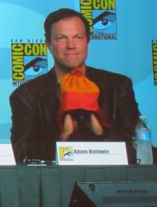 Adam Baldwin at SDCC 2012