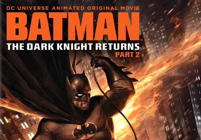 on video�the dark knight returns part 2 amps up the action