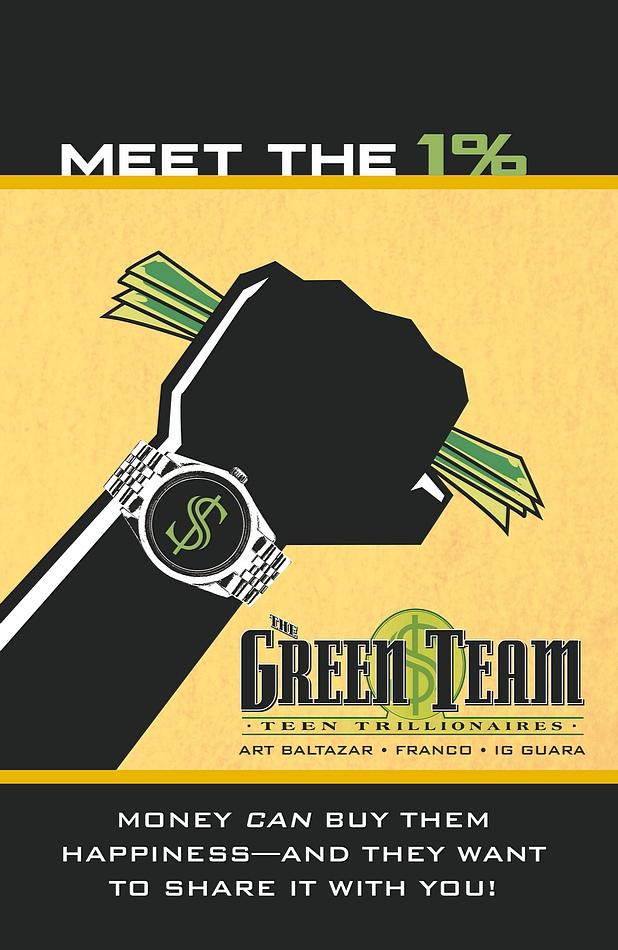 DC Comics Green Team cover