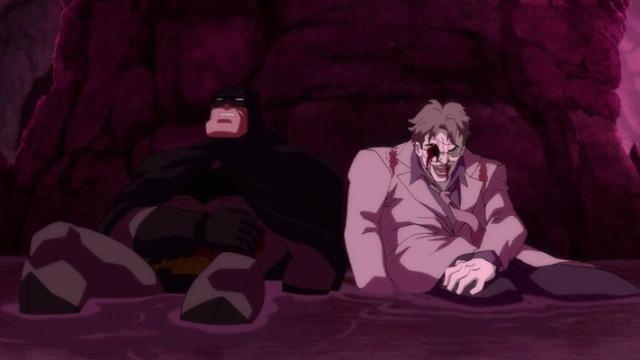 Joker death animated version