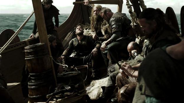 Life on a Viking longboat in Vikings series