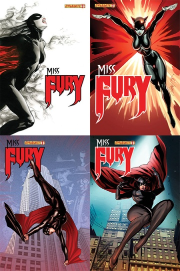 Miss Fury cover variants