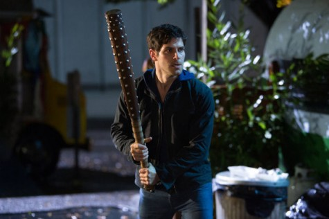 Nick with bat mace from Grimm