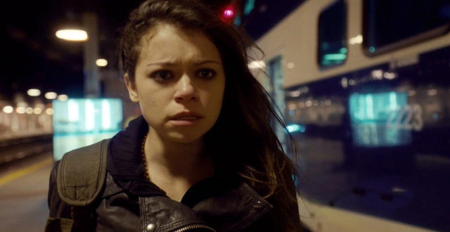 Orphan Black - Sarah at train station