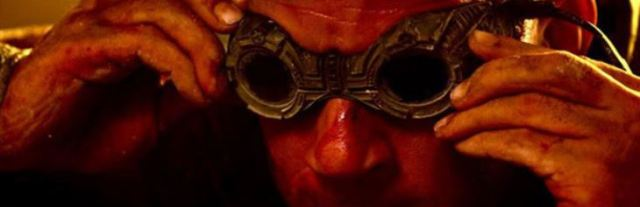 Riddick and goggles