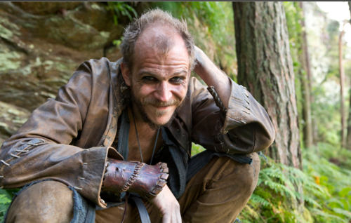 Skarsgard as Floki in Vikings