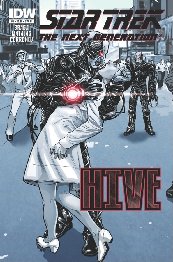 Star Trek Hive Kiss Cover alt #1