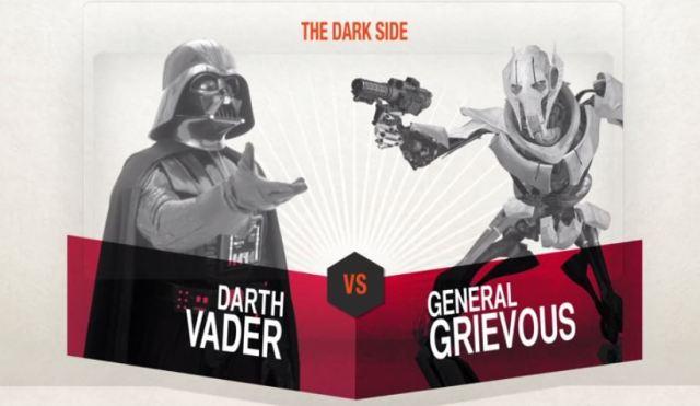 Vader vs. Grievous