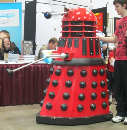 Dalek at Planet Comicon.