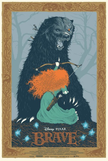 David Petersen Brave Mondo poster copyright 2013