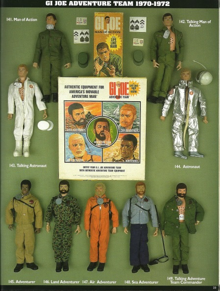 GIJoe Adventure team figures