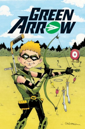 Green Arrow alternate MAD cover April 2013