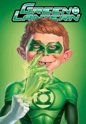 Green Lantern alternate MAD cover April 2013