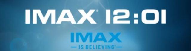 IMAX 1201 banner