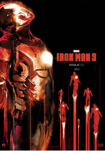 Iron Man 3 1201 print