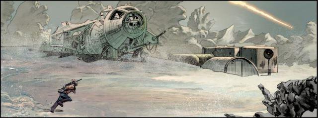 Mike Mayhew The Star Wars panel 2