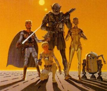 Original McQuarrie Star Wars crew