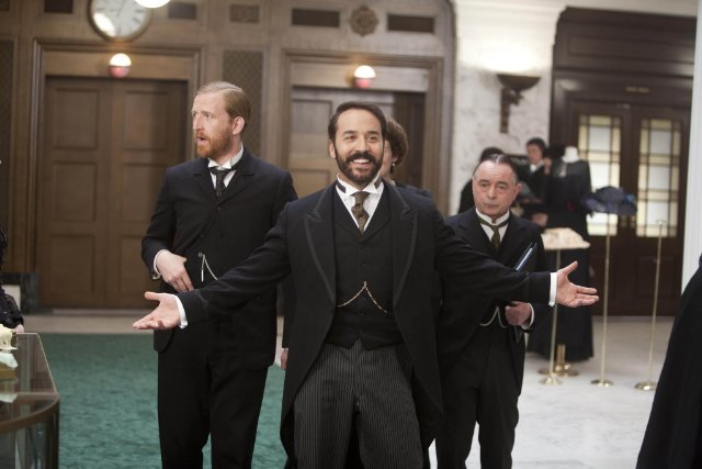 Piven as Mr Selfridge