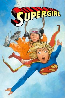 Supergirl MAD magazine cover