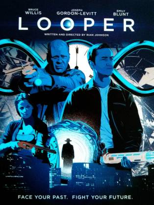 UK Blu-Ray art for Looper