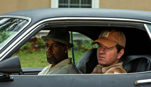 Wahlberg and Washington in 2 Guns