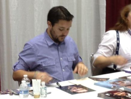 Wil Wheaton at Planet Comicon 2013