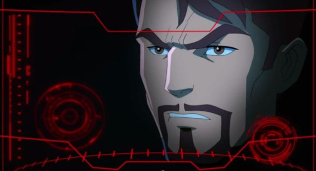 Animated Tony Stark Disney XD