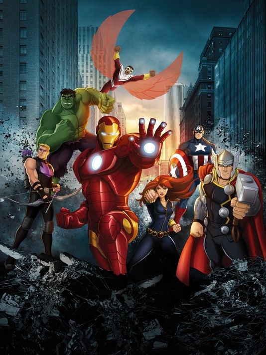Iron man animated avengers - photo#16