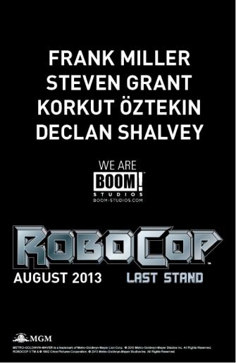 BOOM RoboCop teaser