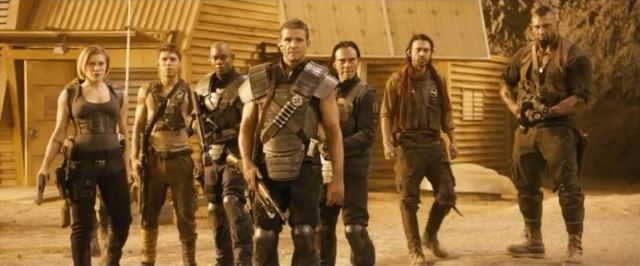 Bounty hunters in Riddick