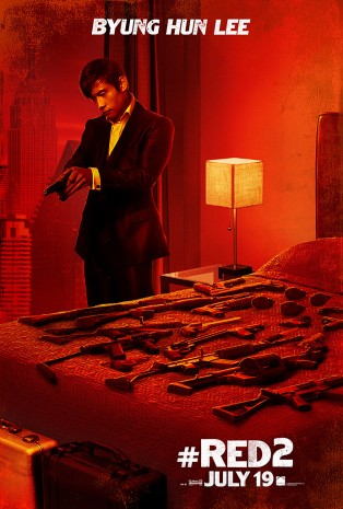 Byung Hun Lee in Red 2