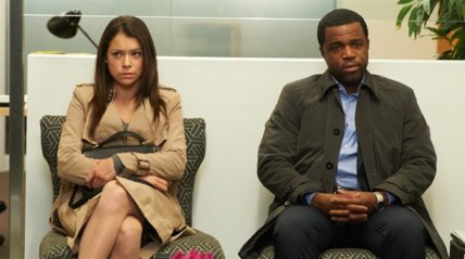Detective Bell and Sarah as Beth
