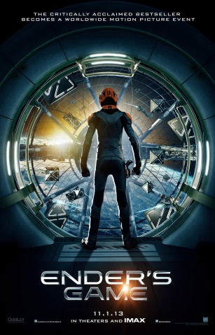 Enders Game movie poster