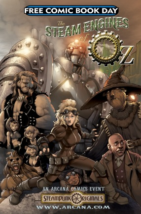 FCBD Steampunk Oz 2013