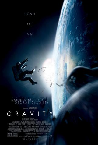 Gravity movie poster 2013