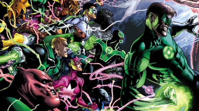 Green Lantern 20 banner