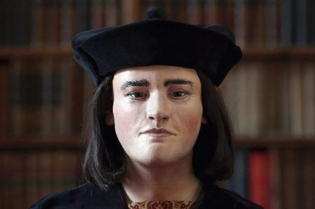 King Richard III 3D printed bust