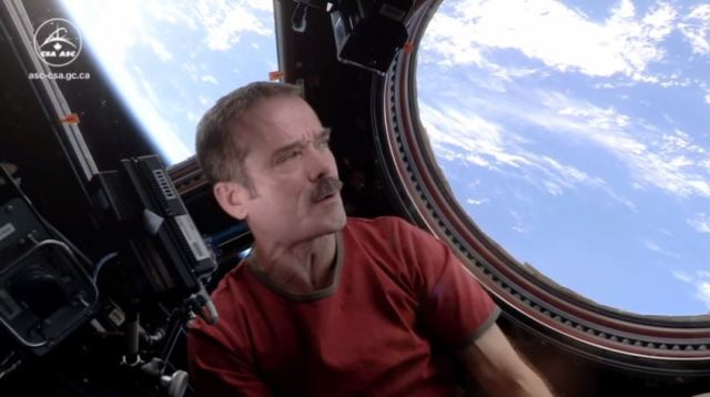 Planet Earth and Hadfield